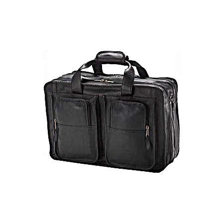 Clava Leather Bags Flight Bag - Vachetta Tan