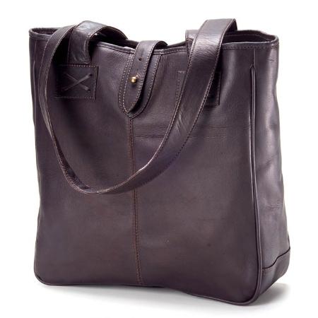 Clava Leather Bags Vachetta Small Tote - Vachetta Black