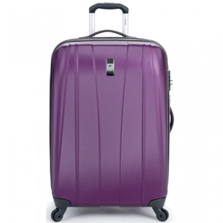 Delsey Helium Shadow 2.0 25in. Expandable Suiter Trolley - Purple