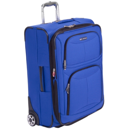 Delsey Helium Fusion 3.0 25in. Expandable Suiter Trolley - Blue