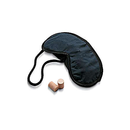 Lewis N. Clark Travel Products Eye Mask & Ear Plugs - Navy