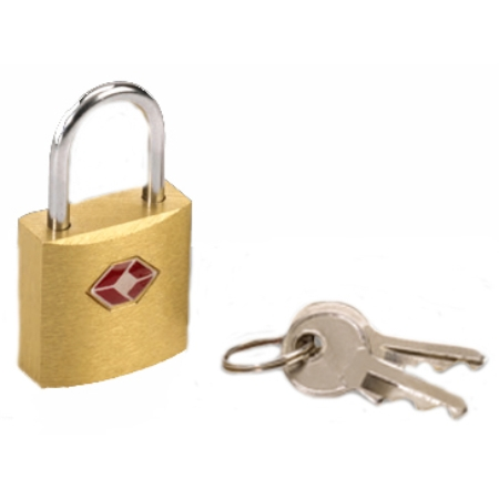 Lewis N. Clark Travel Products Tsa Friendly Key Lock - Bronze