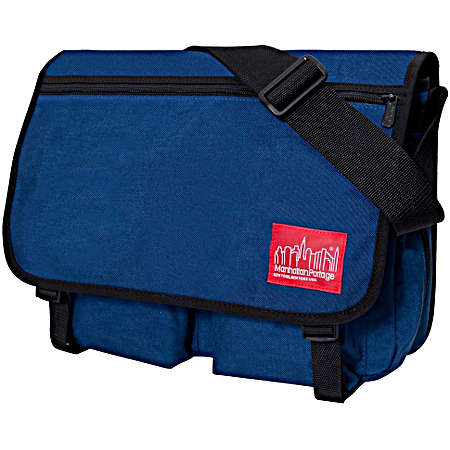 Manhattan Portage Urban Bags Europa Deluxe Messenger Bag - Navy