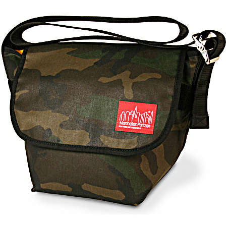 Manhattan Portage Urban Bags Wax Vintage Canvas Messenger Bag (medium) - Black
