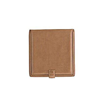 Royce Leather  Leather Watch Cufflink Box - Tan