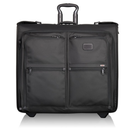 Tumi Alpha Travel And Business Long Wheeled Garment Bag - Black