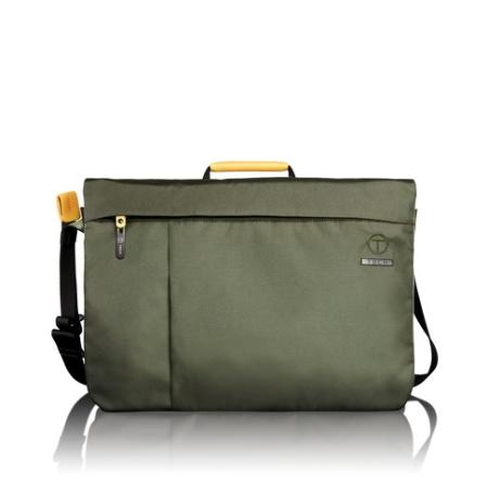 Tumi T-tech Civilian Oliver Laptop Messenger - Green/black
