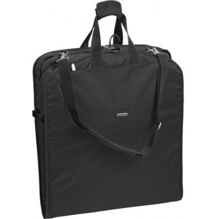 Wally Bags Extra Large Garment Bag With Shoulder Strap - Black