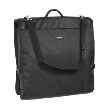 Wally Bags 45in. Framed Garment Bag With Shoulder Strap - Black