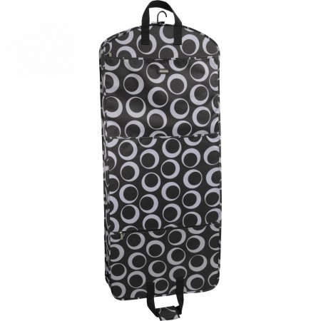 Wally Bags Wally Bags 52in. Fashion Garment Bag W/ 2 Pockets - Olive Circles