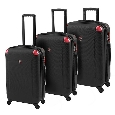 Heys USA Lightweight Luggage and Business Cases Electrum 3 Piece Set