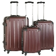 Heys USA Lightweight Luggage and Business Cases Pulse Lite 3 Piece Set