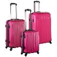 Heys USA Lightweight Luggage and Business Cases Reflex 3 Piece Set